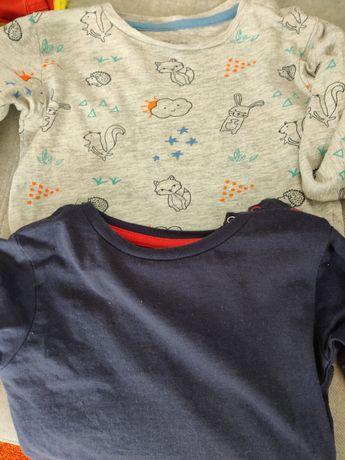 2 T-shirts, manga comprida, 12/18 meses, 18/24 meses, Zippy