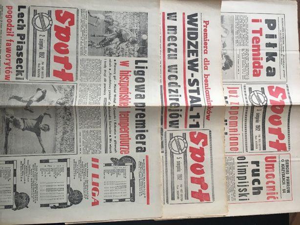 Sport - sierpień 1982 - 14 sztuk