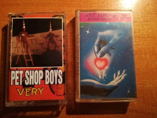 kasety magnetofonowe Pet Shop Boys zestaw