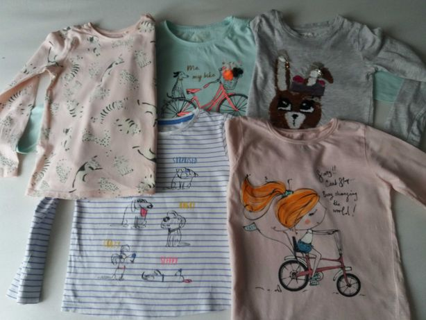Bluzki dla dziewczynki 116-122