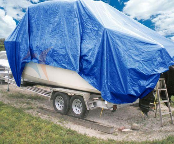 Тент для прицепов автомобилей домов на колесах тарпаулиновый новый