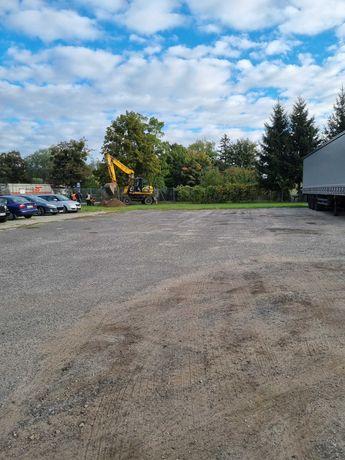 Miejsce parkingowe dla Tirów Kórnik Środa Runowo przy dk 434
