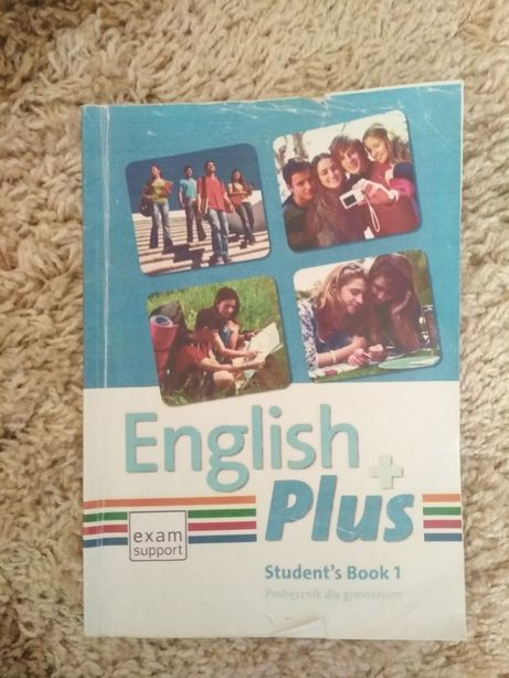 Книжка з англійської мови English  Plus 5 клас