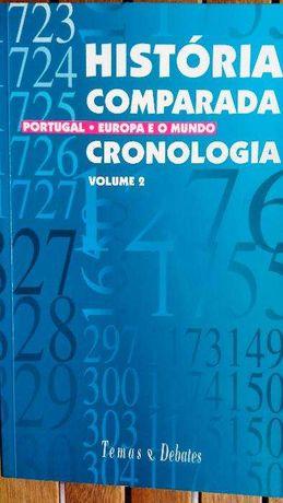História Comparada: Portugal, Europa e o Mundo - Cronologia, volume 2