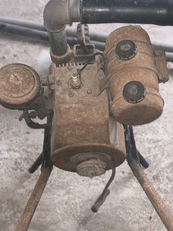 Motor de rega antigo