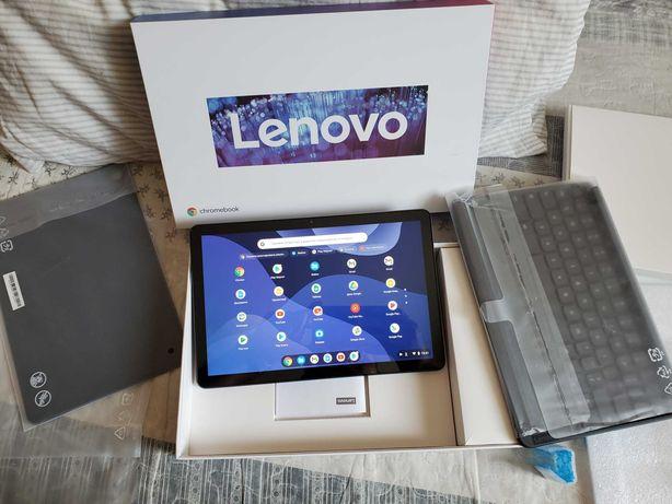"Lenovo Chromebook Duet ZA6F0016US 10.1"" Tablet 128GB + клавиатура NEW"