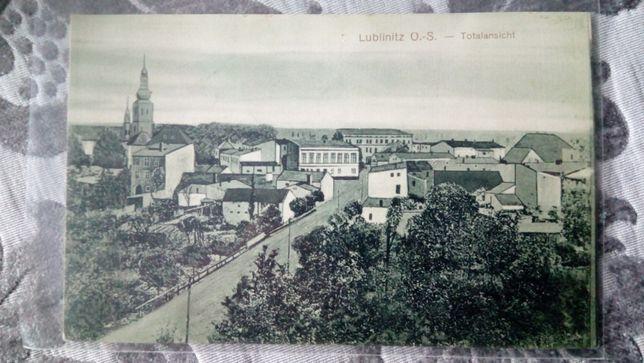 Lublinitz Lubliniec pocztówka - Widok z sądu