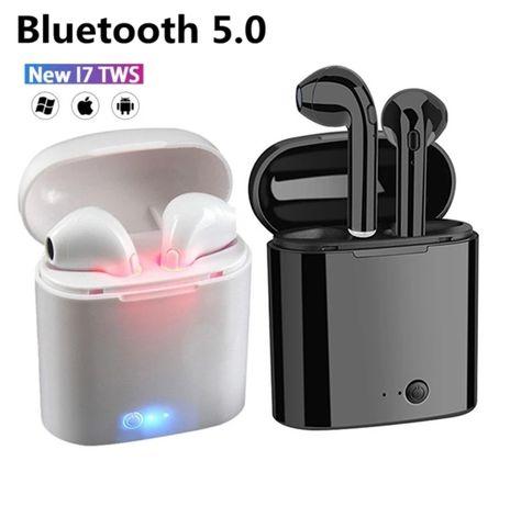 Słuchawki i7S bezprzewodowe z kablem SAMSUNG