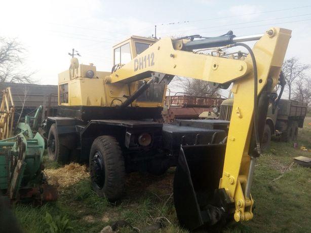 Экскаватор ДН-112 (чешский)