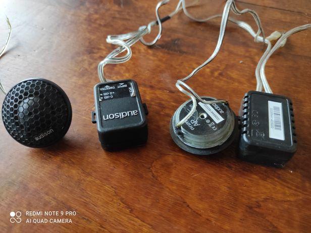 Głośniki Audison AP1 ( tweetery, głośniki wysokotonowe)