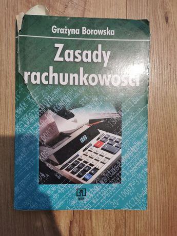 Grażyna Borowska Zasady rachunkowości