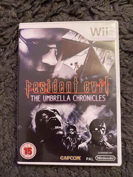 Gra Resifent Evil The Umbrella Chronicled na Nintendo Wii