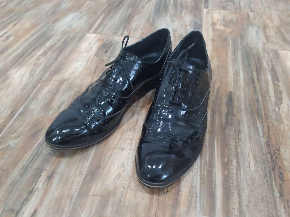 Оксфорды туфли лаковая кожа Хмельницкий - изображение 1