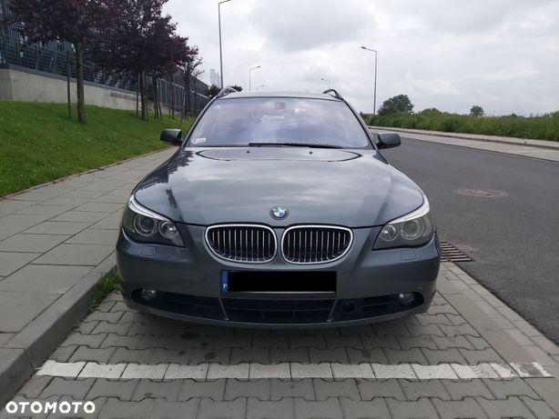 BMW Seria 5 BMW seria 5 530d 2007 r. Automat Navi Skóra Panorama dach
