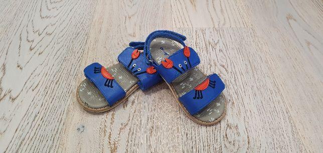 Летние синие сандалии на мальчика Next 9 размер (26,5)