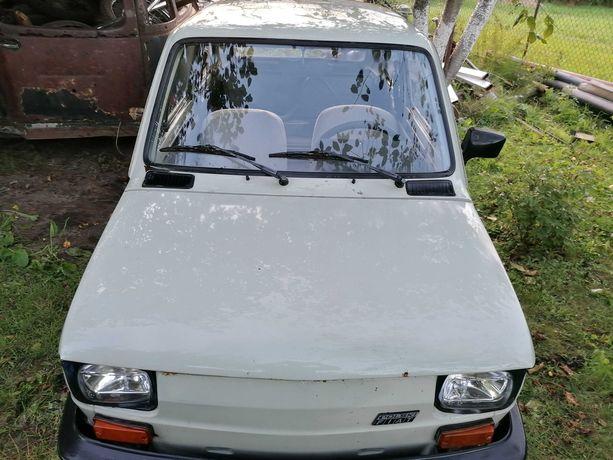 Fiat 126 bis pierwszy właściciel, faktura zakupu