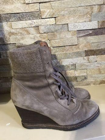 Шикарные кожаные ботинки marc o polo оригинал