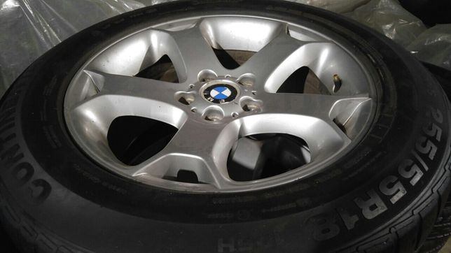 Литые диски Титаны. БМВ Х5. R18.BMW. Оригинал. В идеале