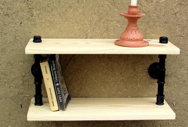 дерев′яна полиця лофт деревянная полка