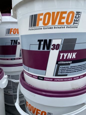 Tynk silikonowy Foveo Tech TN30 baranek 1,5mm 25kg
