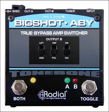 Radial Tonebone Bigshot ABY efekt gitarowy