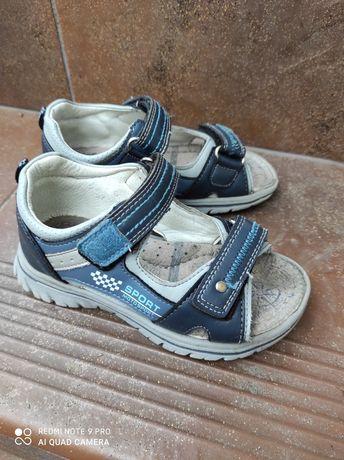 Sandały dla chłopca