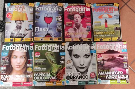Revistas O Mundo da Fotografia Digital