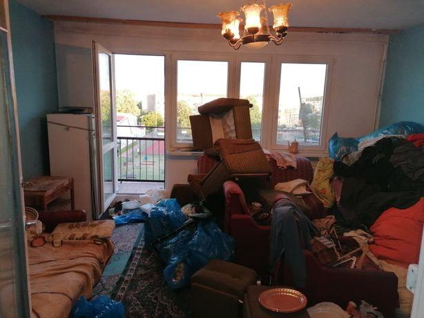 Sprzątanie mieszkań, piwnic, wywóz mebli/gratów