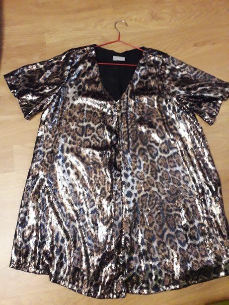 Нарядное платье- туника 48-50