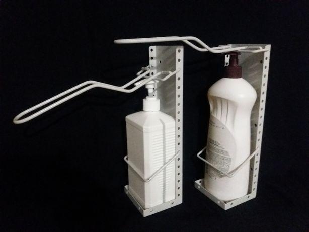 Универсальный держатель дозатор локтевой под любую бутылку до 300мм