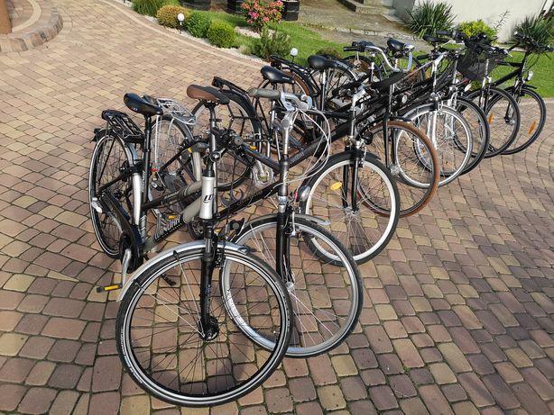 Rower Miejski Trekkingowy Męski Damka Niemiecki Ponad 100 Rowerów