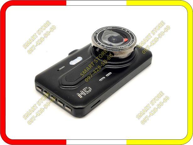 Видеорегистратор T686 с камерой заднего вида, FULL HD