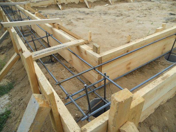Фундаменты. Строительные, бетонные работы