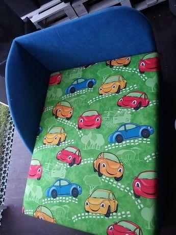 Łóżko dla chłopca składane. Z szufladą