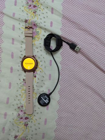 Смарт часы Samsung Galaxy Watch 3 41mm Bronze б/у