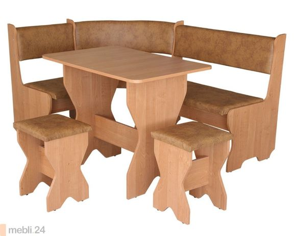 Кухонный уголок , стол, табурет