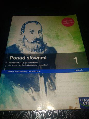 Ponad słowami podręcznik do języka polskiego nowa era cz.2