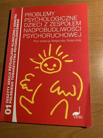 Problemy psychologiczne dzieci z zespołem nadpobudliwości psychoruchow