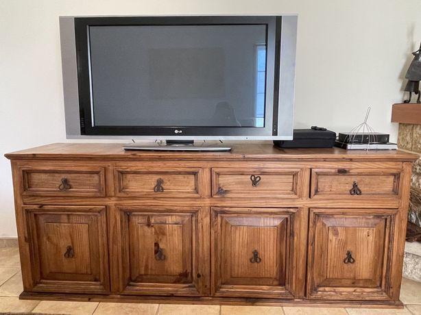 Movel aparador/tv madeira mexicana