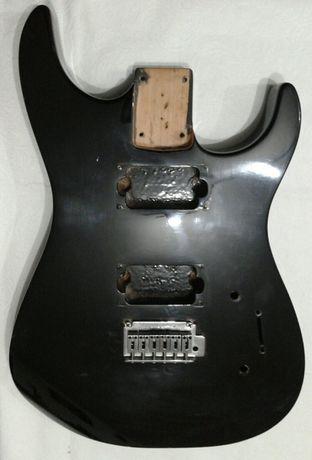 Corpo de guitarra Jackson com ponte