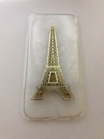 Capa silicone Torre Eiffel iPhone 6/6s Plus