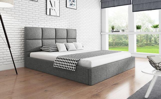 Łóżko tapicerowane z podnoszonym stelażem 120/140/160/180x200 - WIKI