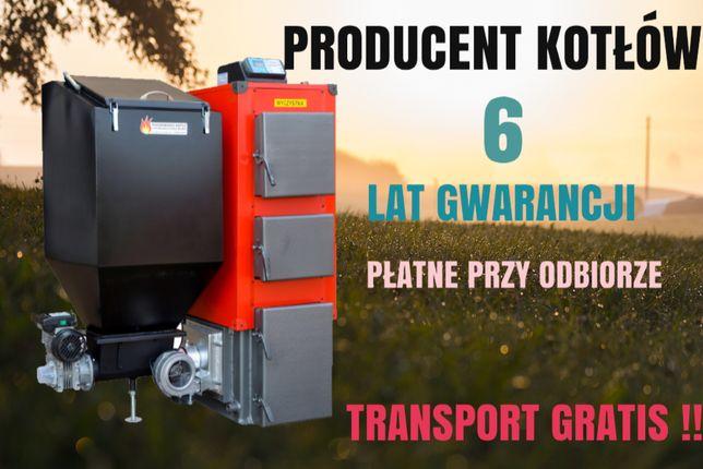 50 kW do 450 m2 PIEC z podajnikiem na EKOGROSZEK kotły KOCIOŁ 45 46 49