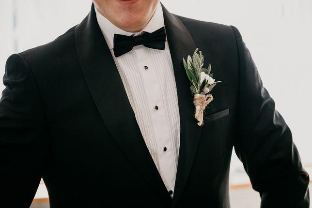 -73% Koszula biała elegancka ślubna PAKO LORENTE raz ubrana 100%bawełn
