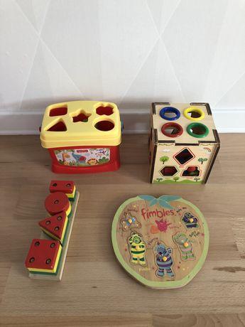 Дитячі іграшки-сортери