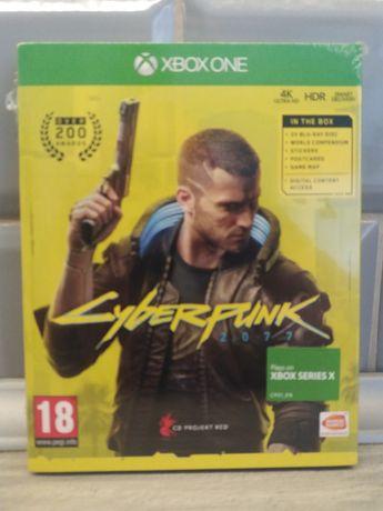 Cyberpunk 2077 xbox one nowe folia!!!