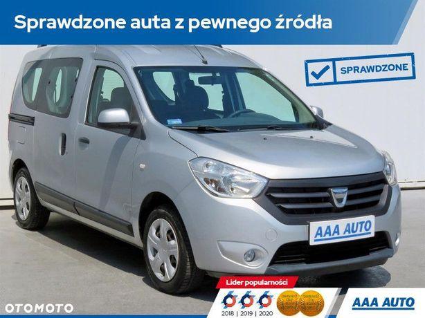 Dacia Dokker 1.6 i, Salon Polska, GAZ, Klima, Parktronic