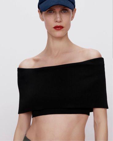 Crop top Zara novo