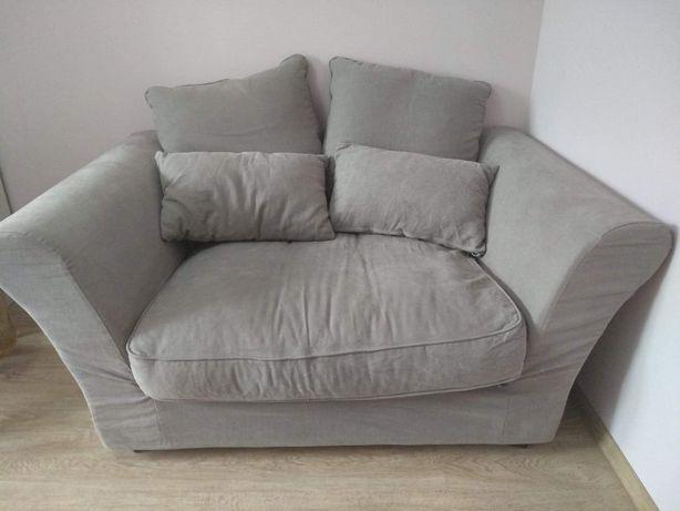 Duża sofa / fotel  dwuosobowa