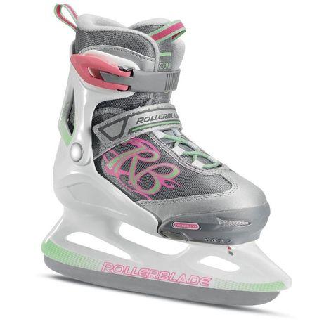 Ледовые коньки Rollerblade Comet Ice раздвижные для детей
